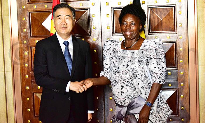 Speaker Kadaga Asks China To Release Ugandan Prisoners