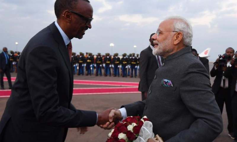 India Bails Out Rwanda With $200 Million Credit Lines