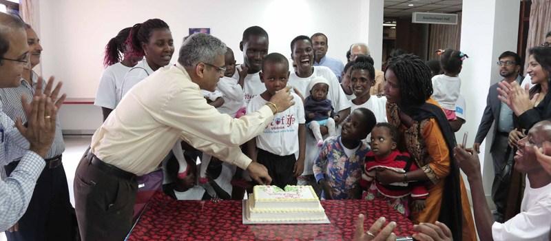 Indians In Uganda Sponsor 102 UG Children For Heart Operation In India