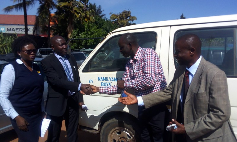 URA Delivers Recovered Vehicle To Owner