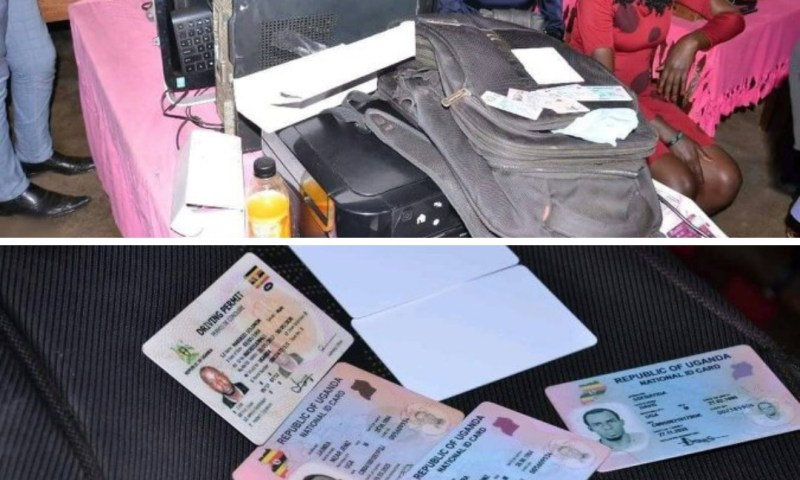 Caught In The Act: Seven Arrested Printing Fake National ID Cards!