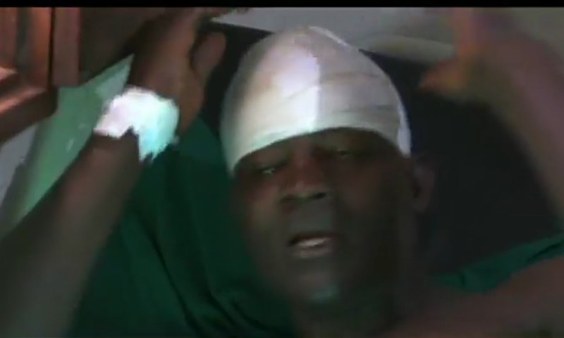 Business Man Survives lynching For Hitting Taxi Driver with Hoe After Freak Accident