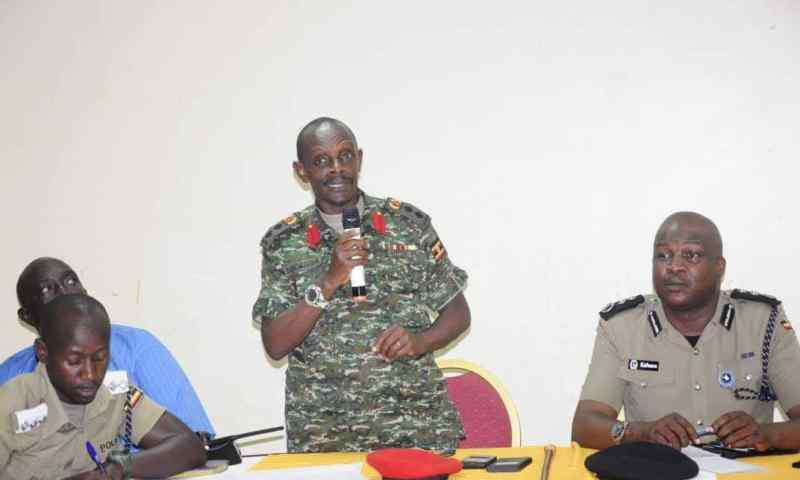 KMP, Military Police Bosses Meet Kiseeka Traders Over Bobi wine