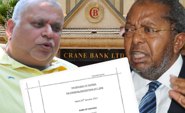 You Must Pay For My Sweat:Panicky BoU Places Crane Bank Under Liquidation Over Thorny Sudhir's Pressure
