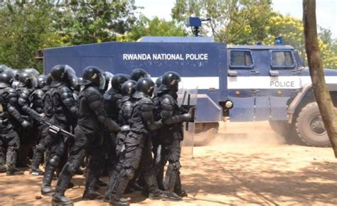 Rwanda Police Fires It's Officers Over Misconduct
