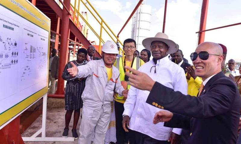 President Museveni Commissions $620m Tororo Industrial Park