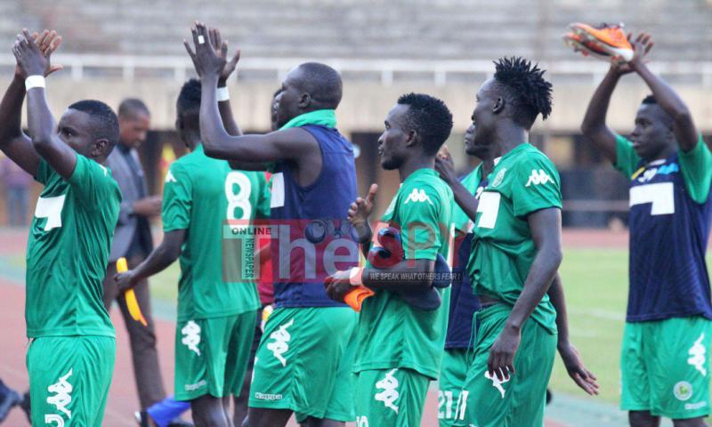 Onduparaka Smash 'Dour' SC Villa In The ST Uganda Premier League Game.