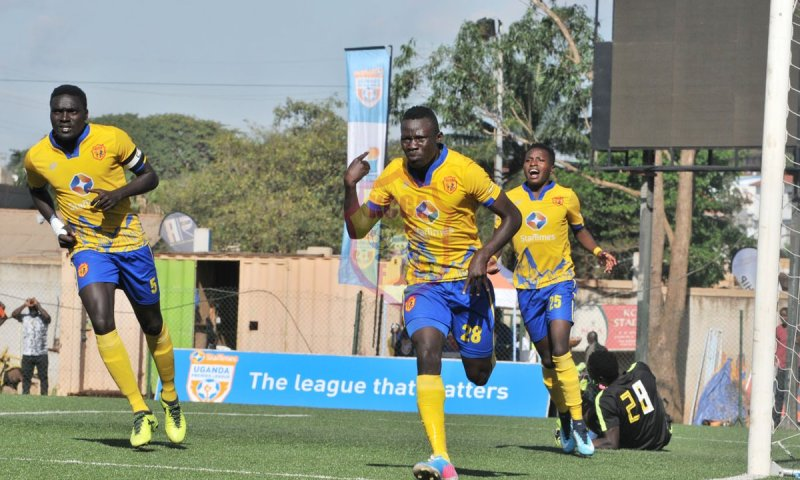 Kcca Fc Defeat Bright Stars To Go Top Of The Table