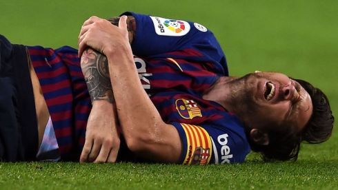 Lionel Messi To Miss El Clasico With Fractured Arm