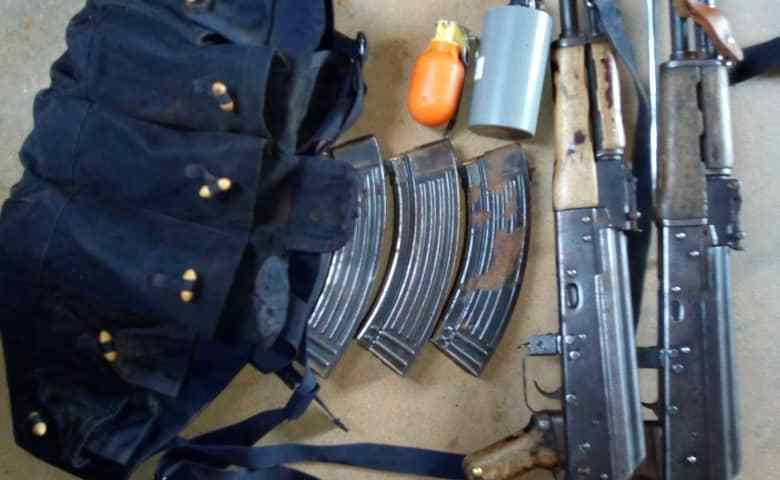 3 Arrested In Lamwo District With Two police Submachine Guns