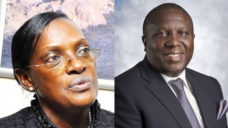 Justine Bagyenda, dfcu's Jimmy Mugerwa Connived To Hide Crane Bank Bad Loan Records!