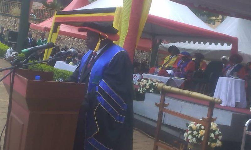 Minister Otafiire Tips KIU Graduates