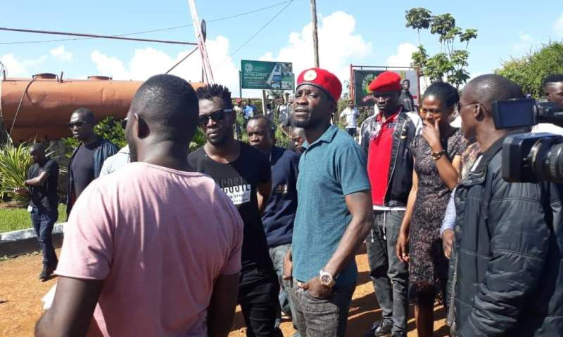 Bobi Wine Finally Gives Up On His Boxing Day Musical Concert, Police Takes Over Beach!