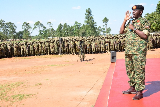 UPDF Sends More Troops To Somalia - The Spy