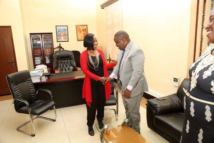 Final Smile: Musisi Reconciles With Lukwago 10 Days To Her Resignation