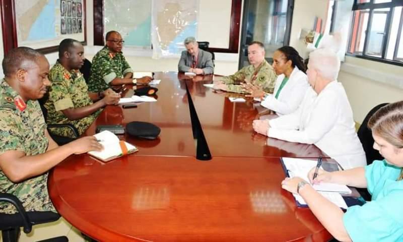 US Ambassador Applauds UPDF Capacity To Fight Terrorists