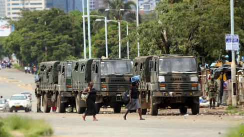 Violent Crackdown Against Protesters-UN Warns Zimbabwe Armed Forces