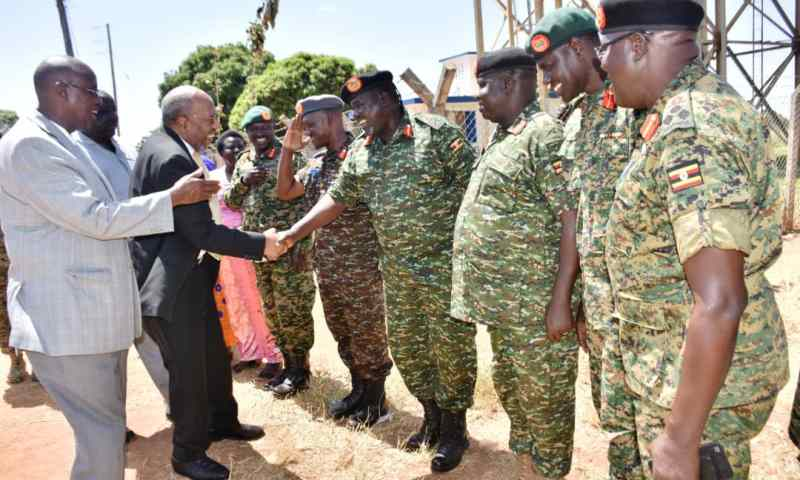 'Maintain the Bond Between Civilians and UPDF' -Prime Minister Rugunda