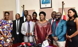 Musicians, Comedians Meet Kadaga Over Proposed Tough Laws