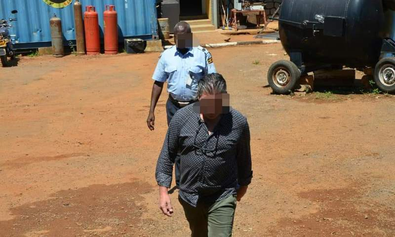 Italian Business Man Arrested At Entebbe Airport Trafficking Illegal Drugs