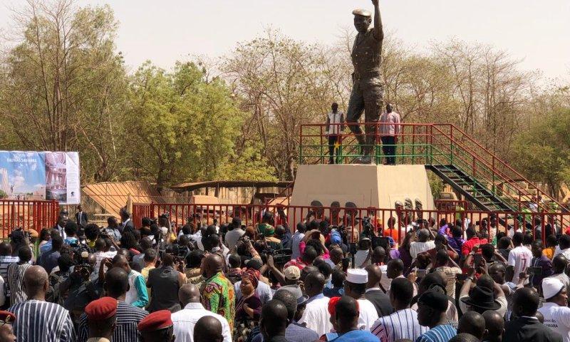 Pan-African Icon Thomas Sankara Honoured, Bukina Faso Gov't Builds Statue In Memory