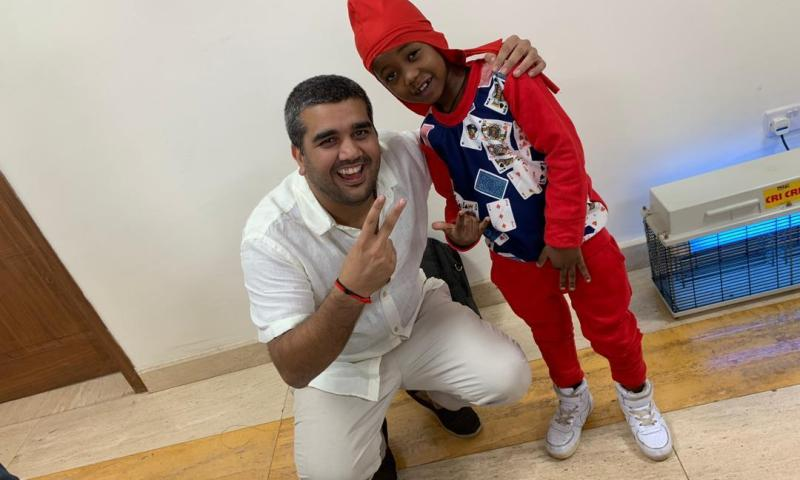 Sudhir's Charity Foundation Takes Over Young Rapper Fresh Kid's Education