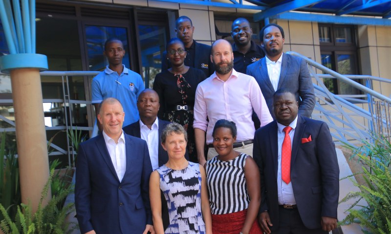 Uganda becomes first country in Africa to host UEFA officials