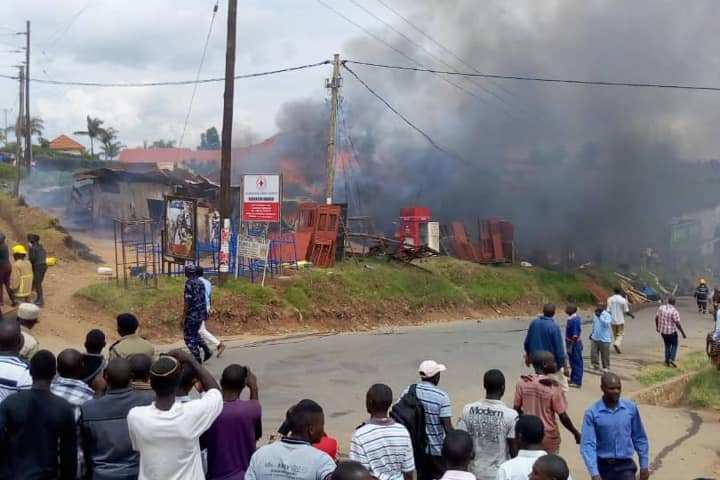 One Dead, Property Destroyed As Fire Guts Rukungiri Town