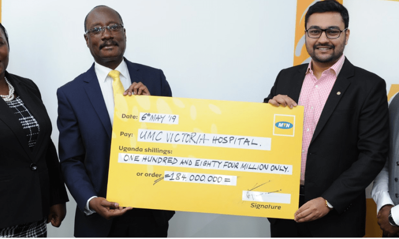 MTN, Victoria Hospital Offer Free Surgery For Disabled Children