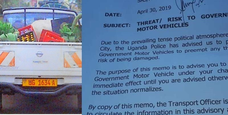 Exclusive: Gov't Workers Advised To Park Gov't Vehicles  Over Bobi Wine Riots