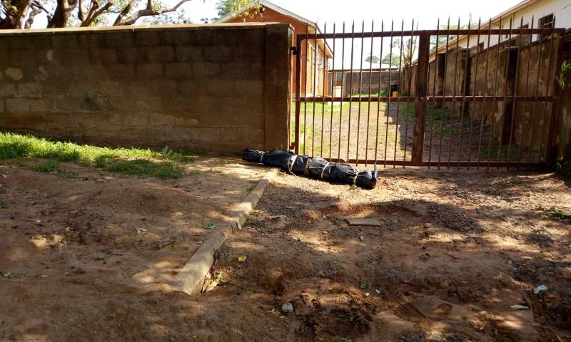 Police Dumps Body At Gulu Hosp. Gate, Sparks Off Riots