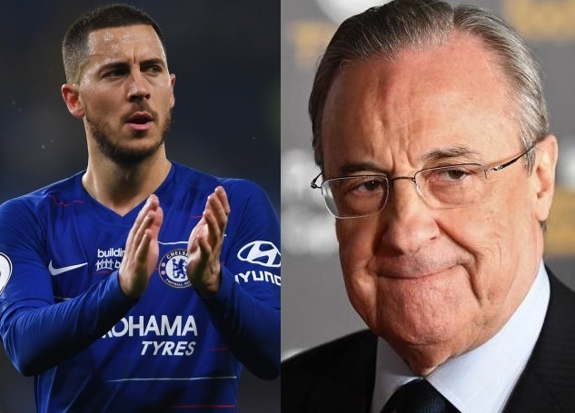 Perez 'Dreams' of Eden Hazard Joining Real Madrid