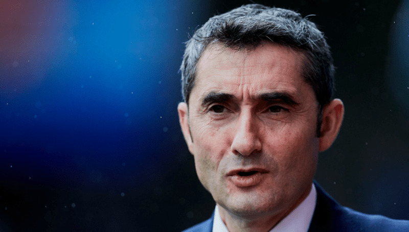 Valverde Faces Axe As Barcelona Manager