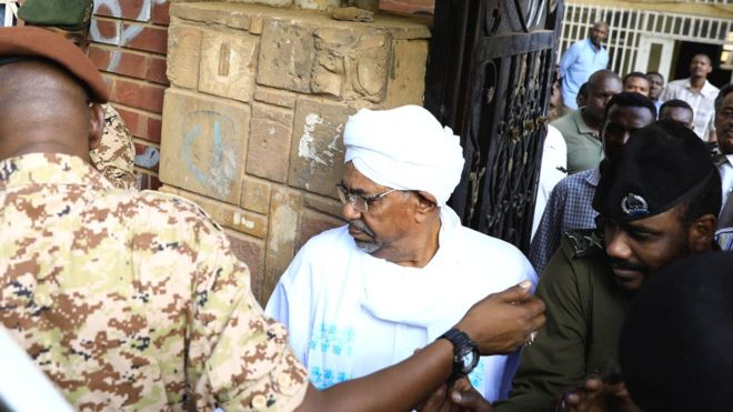 Former Sudan President Bashir Makes First Appearance Ahead Of Prosecution