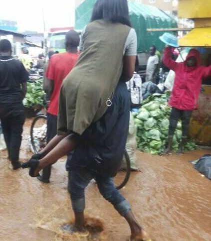 Morning Downpour Disrupts Trade, Traffic