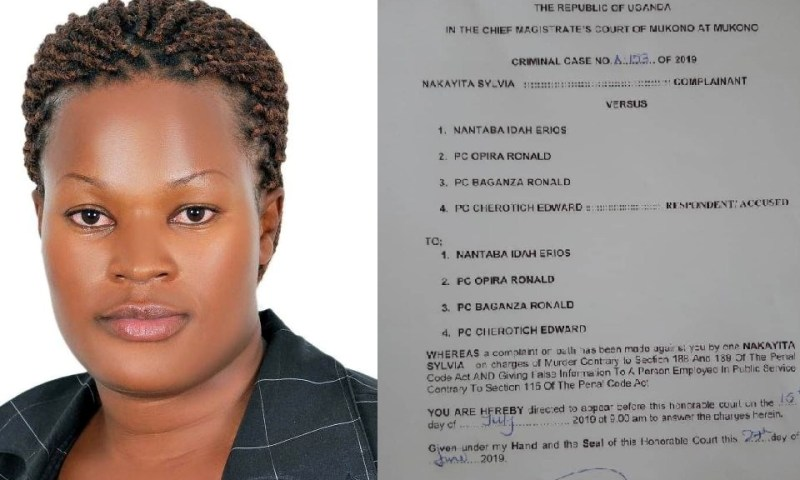 Minister Nantaba, 3 Police Officers Summoned Over Murder