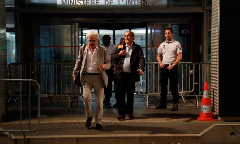 Ex-UEFA Boss Platini Released, Claims Innocence