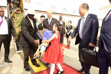 President Museveni Arrives In China, Starts 4-Day Working Visit