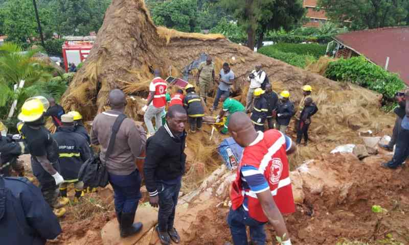 Two Confirmed Dead After City Bar, Guesthouse Collapse