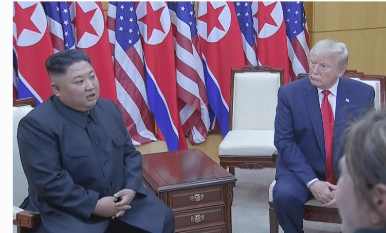 US President Trump, North Korea's Kim Meet At DMZ