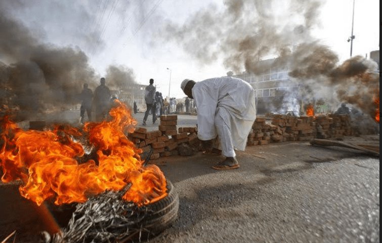 Over 60 People Shot Dead By Army In Sudan Protests