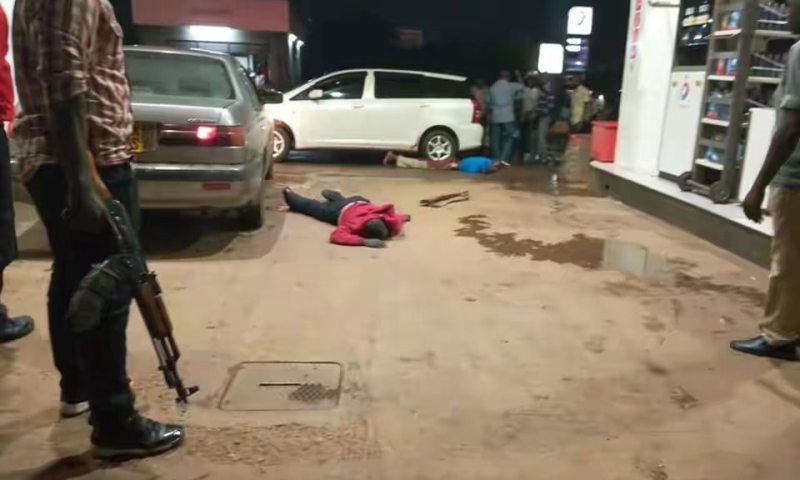 Armed Robbers Attack Besigye Fuel Station, One Shot Dead