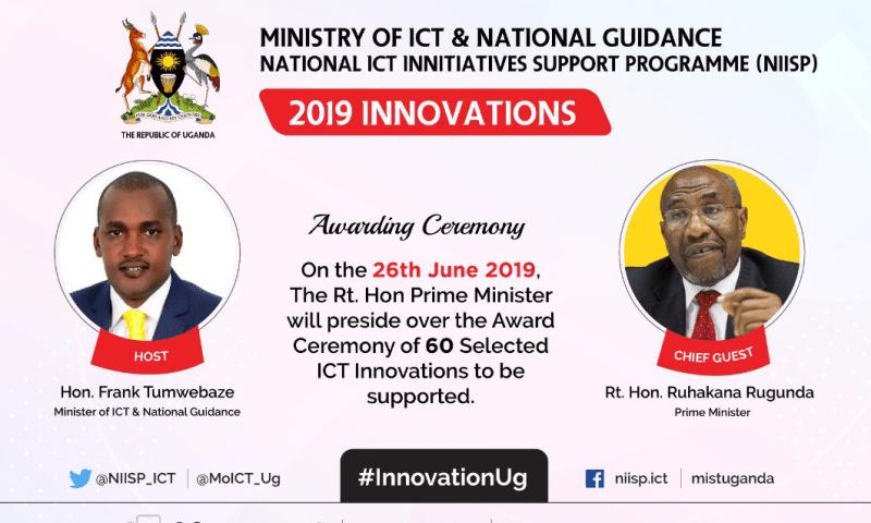 Premier Rugunda To Grace ICT  2019 Innovation Awards