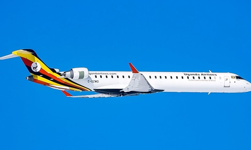 Third CRJ-900 Bombardier Arrives In July– Minister Azuba