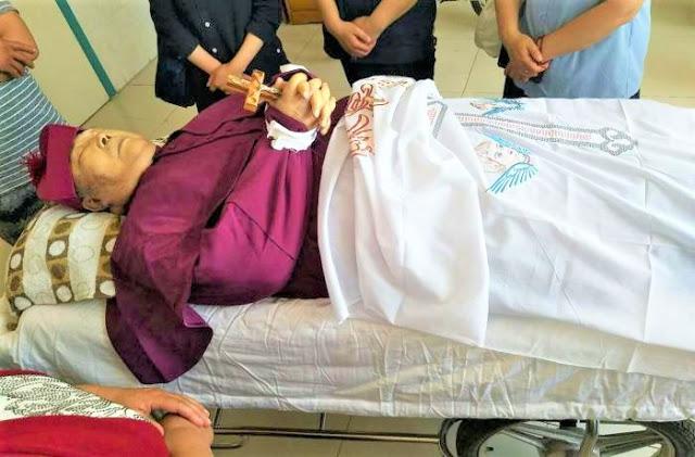 Catholic Underground Bishop Dies under house arrest by China Government
