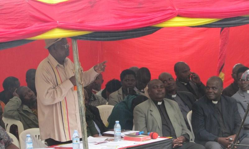 Min. Kamuntu Decries Reckless Health Workers