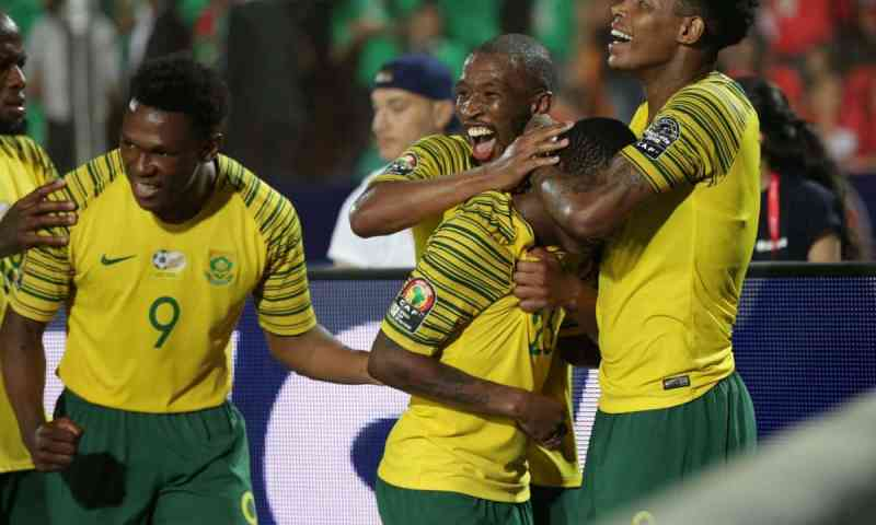 Sensational Bafana Bafana Stun AFCON Hosts Egypt