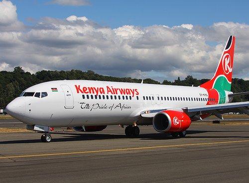 Shock As Corpse Falls From Kenya Airways Plane Into UK Garden