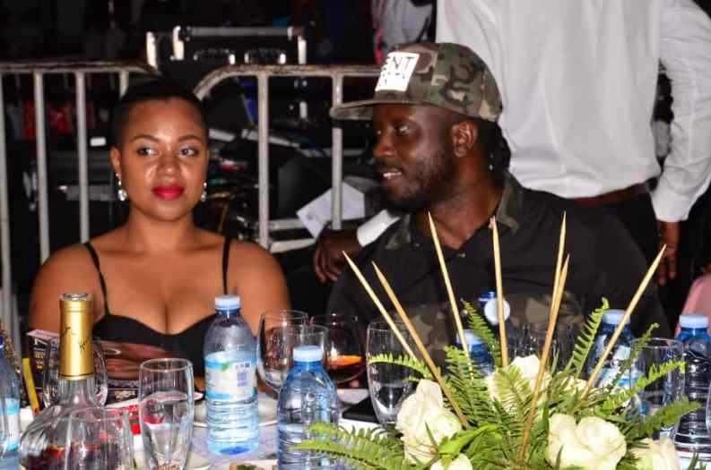 Bebe Cool and Zuena were also there