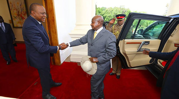 President Museveni Arrives In Kenya For Source 21 COMESA Summit